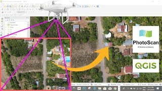 How to make money with drone images-Orthophoto with photoscan-point cloud- gis-photogrammetry
