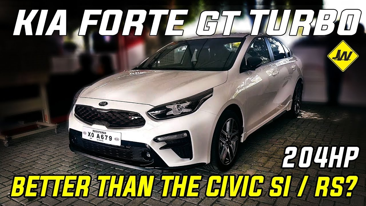 2020 Kia Forte Review.2020 Kia Forte Gt Turbo Review Is It Better Than The Civic Rs Turbo Civic Si Philippines