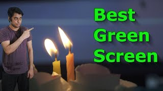 Best Green Screen in India | Elgato Green Screen Unboxing and Review |