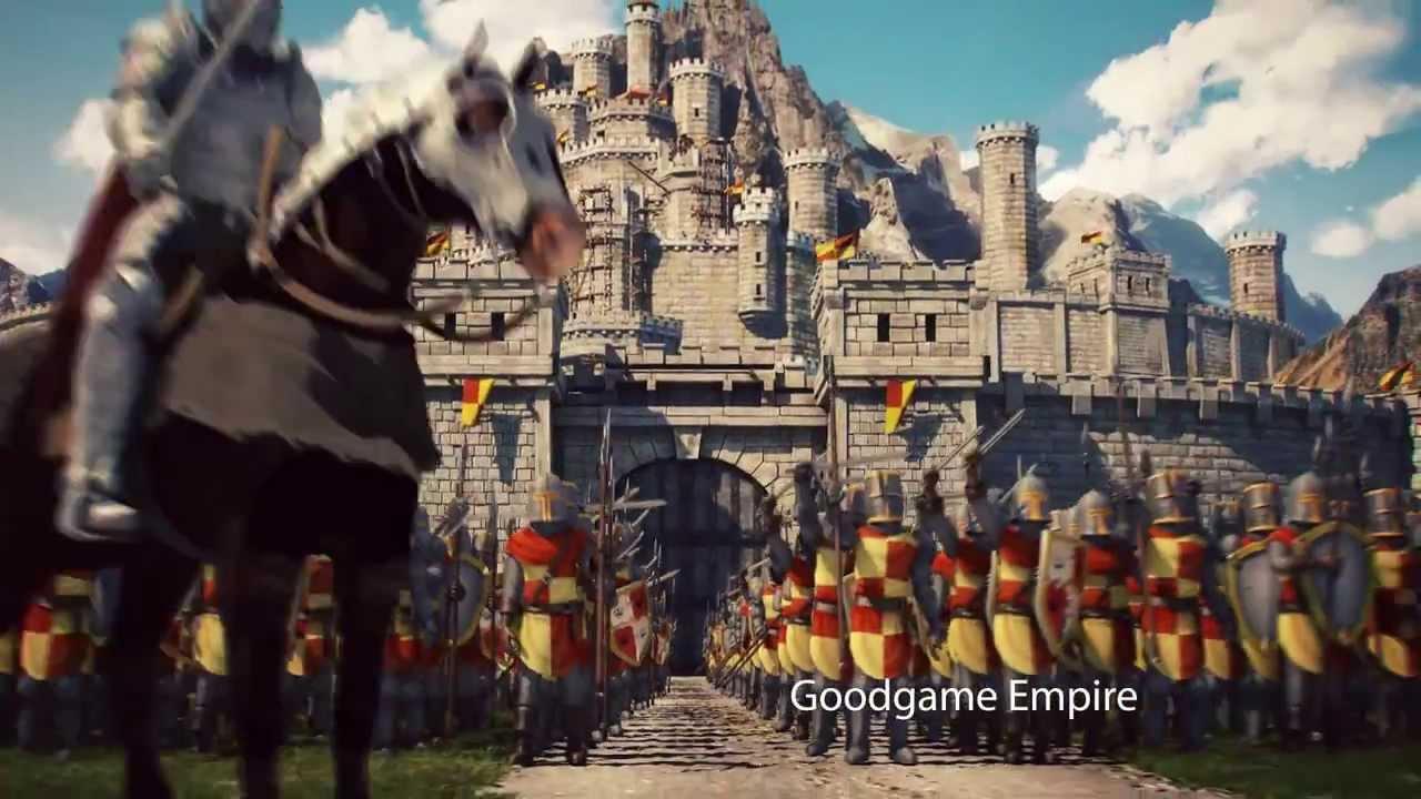 goodgame empire trailer deutsch 20 sek youtube. Black Bedroom Furniture Sets. Home Design Ideas
