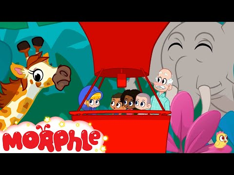 Field Trip To The Jungle | My Magic Pet Morphle | MORPHLE | Sandaroo Kids Channel
