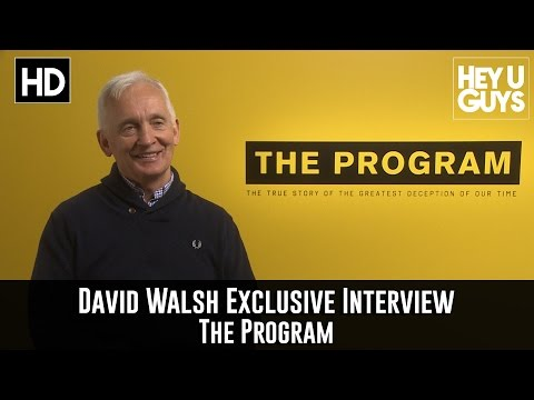 Author / Journalist David Walsh Exclusive Interview - The Program