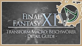 ff14 summoner macro