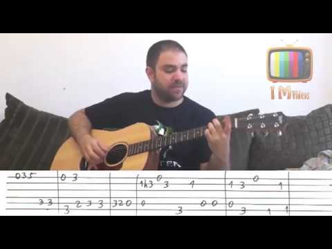 how to play stand by me on guitar tabs