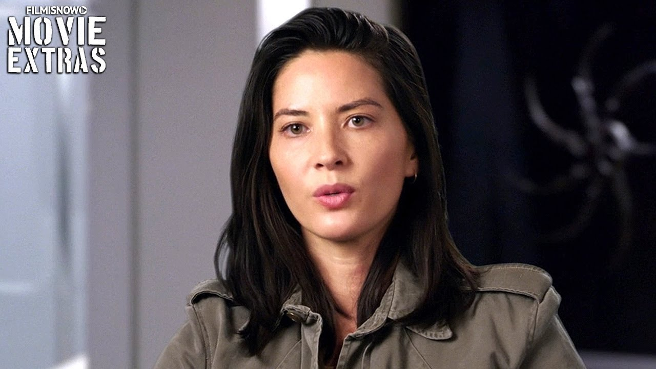 THE PREDATOR | On-set visit with Olivia Munn