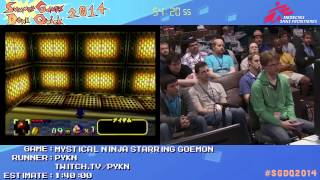 Summer Games Done Quick 2014 - Part 21 - Mystical Ninja Starring Goemon