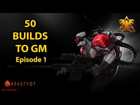 StarCraft 2: BEST SERIES EVER!! - 50 Terran Builds to Grandmaster Episode 1