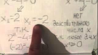 Что значит решить уравнение