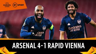 Arsenal v Rapid Vienna (4-1) | Europa League Highlights