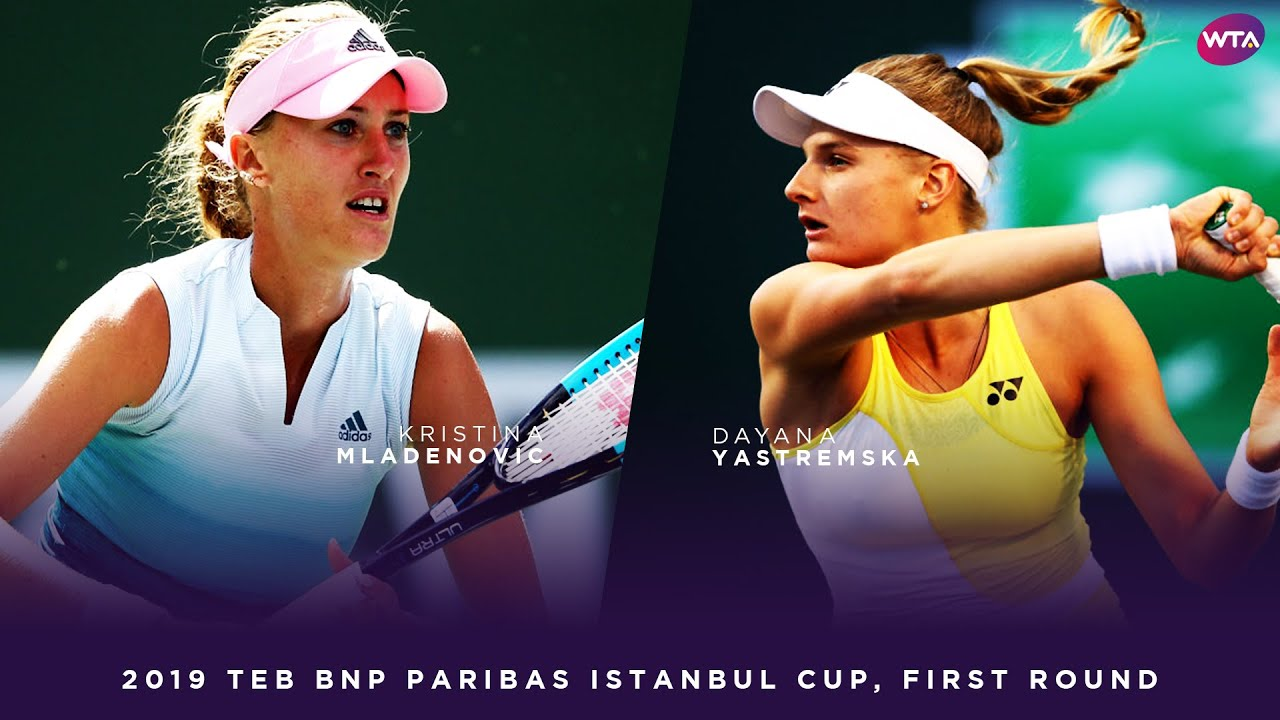 Kristina Mladenovic vs. Dayana Yastremska | 2019 TEB BNP Paribas Istanbul Cup First Round