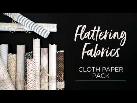 Cloth Paper Pack | Creative Memories Australia