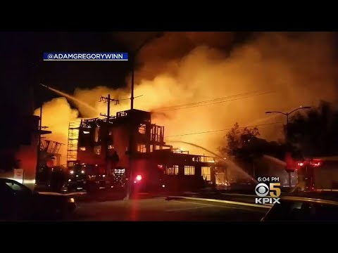 Massive Construction Fire In Oakland Is Latest In String Of Arson Fires