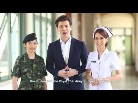 วิทยาลัยพยาบาลกองทัพบก | The Royal Thai Army Nursing College