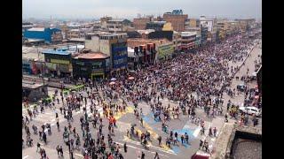 Jornada de marchas de universidades públicas en Colombia transcurrió en total normalidad