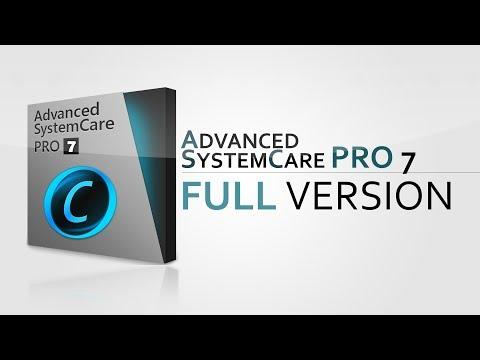 Advanced SystemCare PRO 7 Full Version