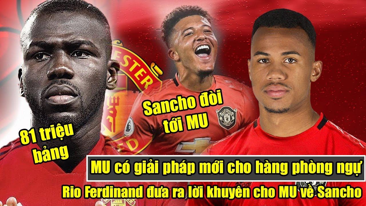 🔥MU có giải pháp mới cho hàng phòng ngự | Rio Ferdinand đưa ra lời khuyên cho MU về Sancho.