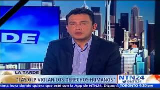 la olp ya se est convirtiendo en sicariato luiz izquiel a ntn24 sobre ejecuciones en venezuela