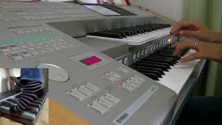 作曲者の国本さんから頂いた楽譜で演奏しました。エレクトーンでポルカ...
