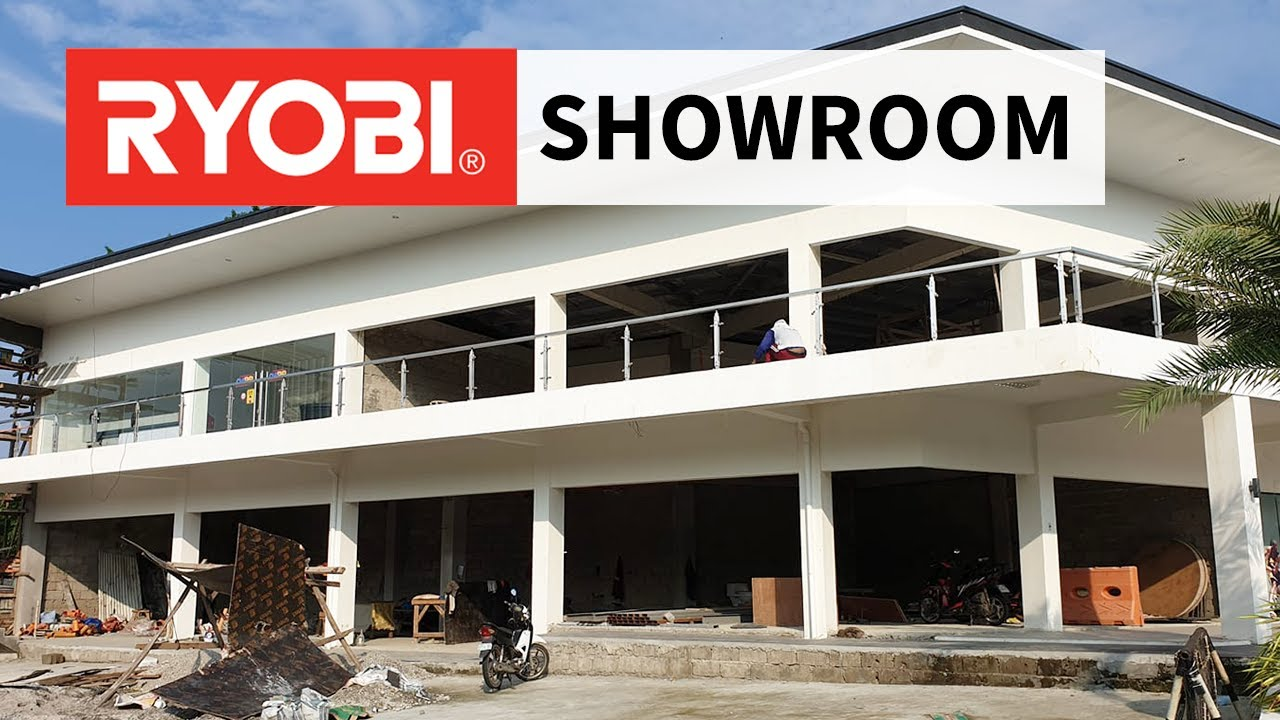 The Ryobi Power Tools Showroom in the Philippines is Almost Complete