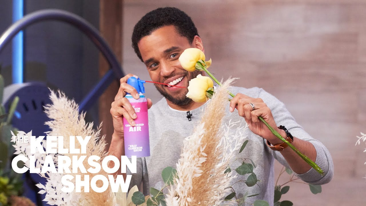 How To Arrange Flowers With Michael Ealy And Manny Jacinto