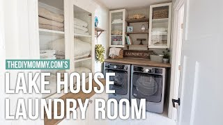 Classic Cottage Laundry Room Tour | Mom