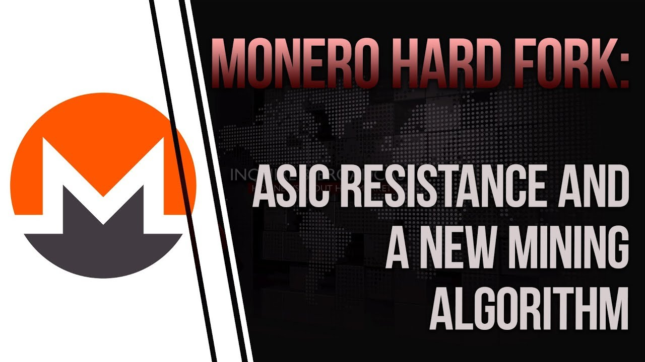 Monero hard fork on March 9th: ASIC resistance and a new mining algorithm