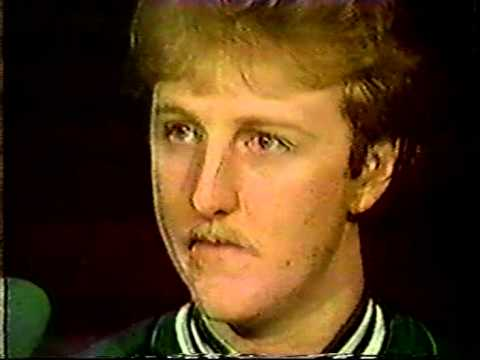 Larry Bird Interview With Chick Hearn (1985) - YouTube