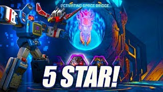 5 Star Bot Crystal Opening - Transformers: Forged To Fight