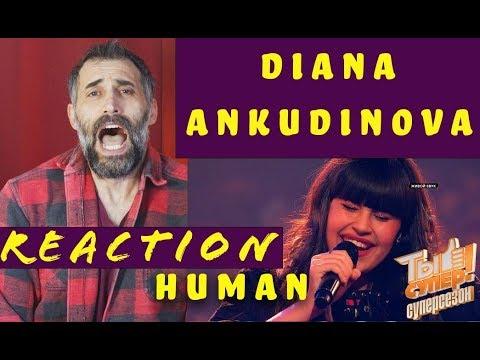 Diana ankudinova-Ты супер- Суперсезон Финал Диана Анкудинова  г Москва Human reaction