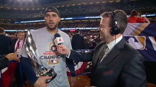 World Series MVP George Springer talks about the final 6 outs in the Houston Astros' win | ESPN