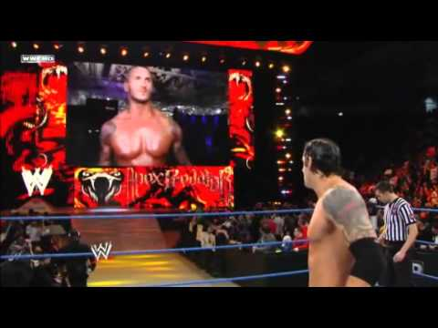 Randy Orton returns to Smackdown after injury 1/27/12