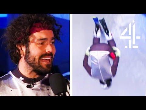 Spencer Matthews' EPIC Double Flip Face-plant! | The Jump