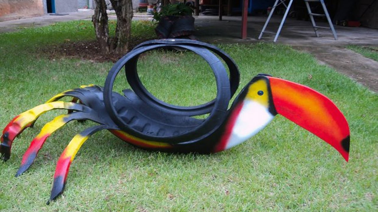 What can you do with old tires youtube Things to make out of old tires