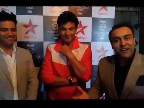 Kunal Kapoor, Vikas Khanna, and Zorawar Kalra (www.youtube.com)