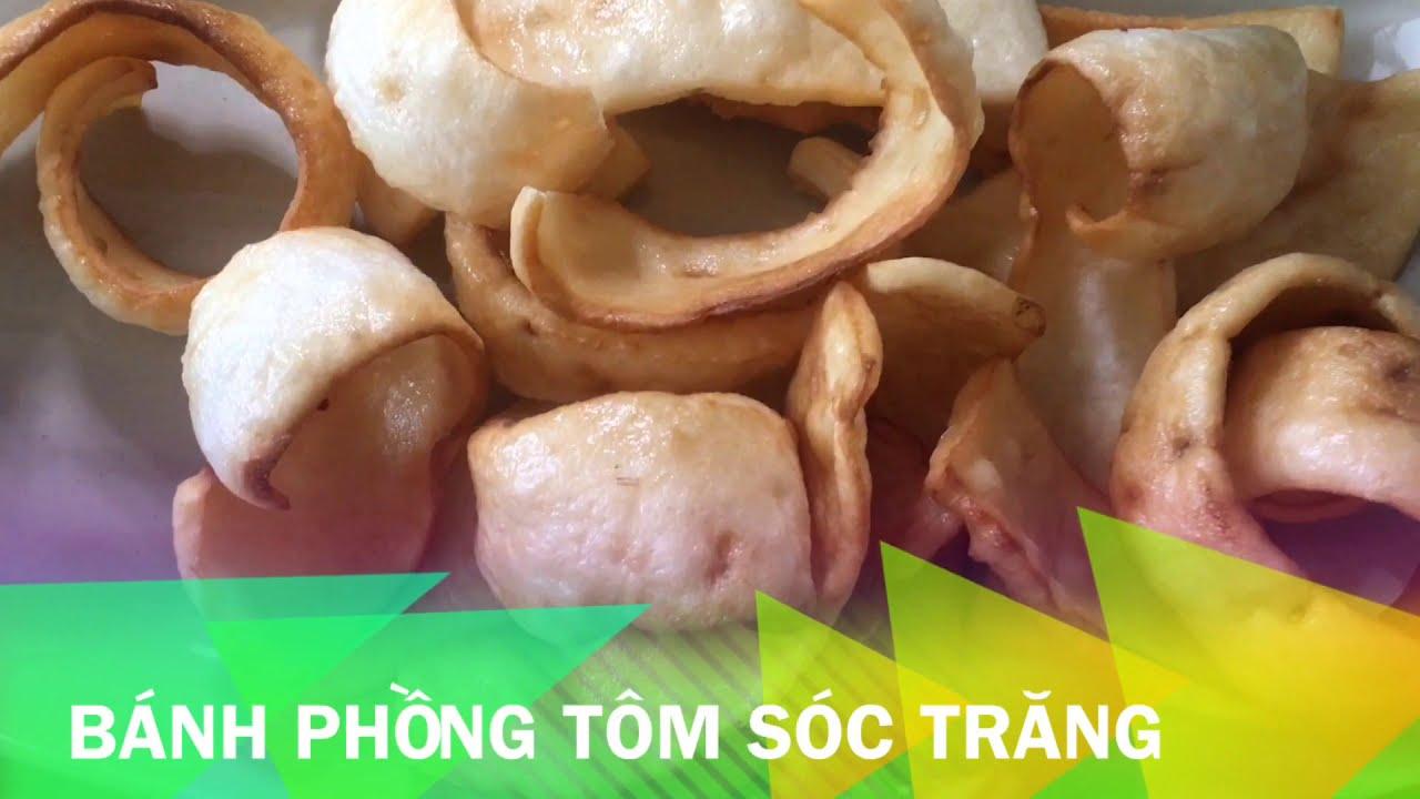 Bánh phồng tôm Sóc Trăng | BenCook Channel