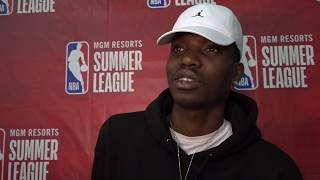 RAPTORS VS SIXERS | 2019 NBA SUMMER LEAGUE INTERVIEW | CHRIS BOUCHER | NBA SOUND | 07.12.2019