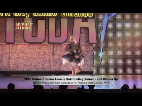 2016 National Senior Female Outstanding Dancer Finalists and Winner