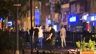 Gezi Parkı Biber Gazı İle Dans