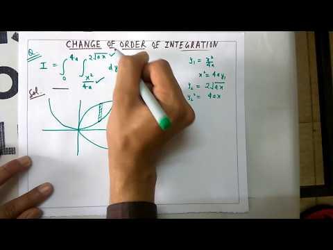 Change Of Order Of Integration Part-1-Mathematics-2