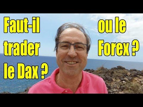 FAUT-IL TRADER LE DAX OU LE FOREX ?