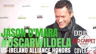 Jason O'Mara interviewed at the Oscar Wilde Awards ☘️ at Bad Robot #OscarWildeLA 