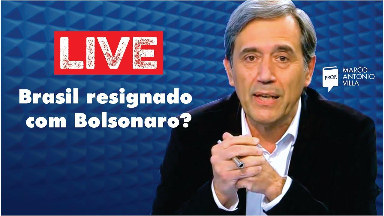 Live Domingo: Brasil resignado com Bolsonaro? 12/07/20