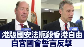 中共通過港版國安法 白宮國會誓言反擊 @新唐人亞太電視台NTDAPTV  20200702