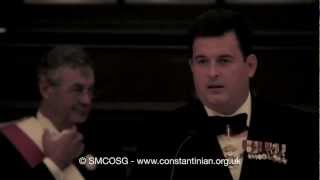 Constantinian Order 2012 - Delegate Anthony Bailey's Faith-in-Sport Speech