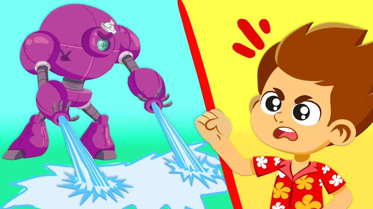 Spooky has created an ice monster! | Superzoo team saves the planet once again!
