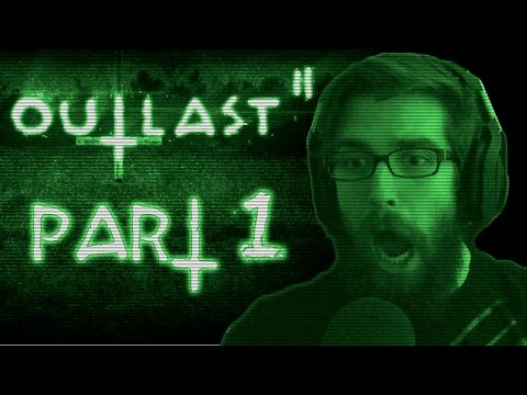 """Outlast 2 - Let's Play (w/ Facecam) - Part 1 - """"What God Has Joined"""""""