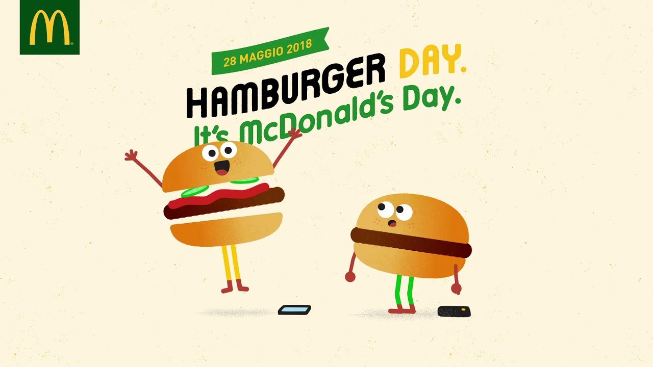 McDonald\'s Hamburger Day - È qui la festa? - YouTube