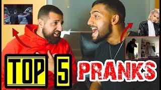 DIE BESTEN PRANKS !! 😱😂    TOP 5