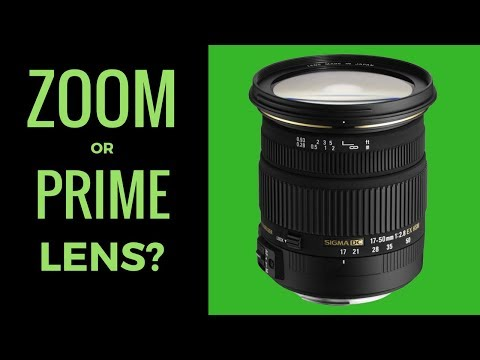 Zoom or Prime Lens for My New Nikon D7200 ?