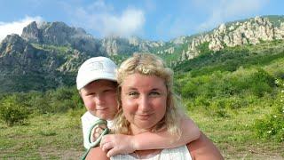 Крым Отдых на Море с Ребенком, Долина Привидений! Пляж, Черное Море, Цены на Такси!